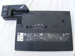 IBM-Lenovo-42W4637-Docking-Station-Port-Replicator-No-key