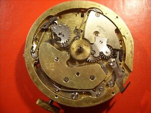 Quarter-Repeater-Chronograph-Pocket-Watch-Movement-Swiss-To-Repair-or-Parts