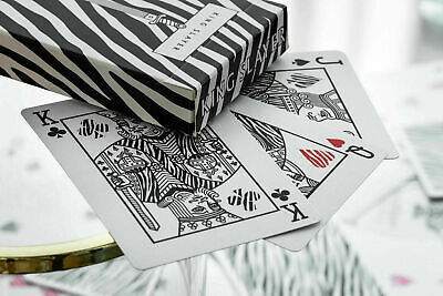 Printed by Cartamundi LIMITED Zebra King Slayer Playing Cards by Ellusionist