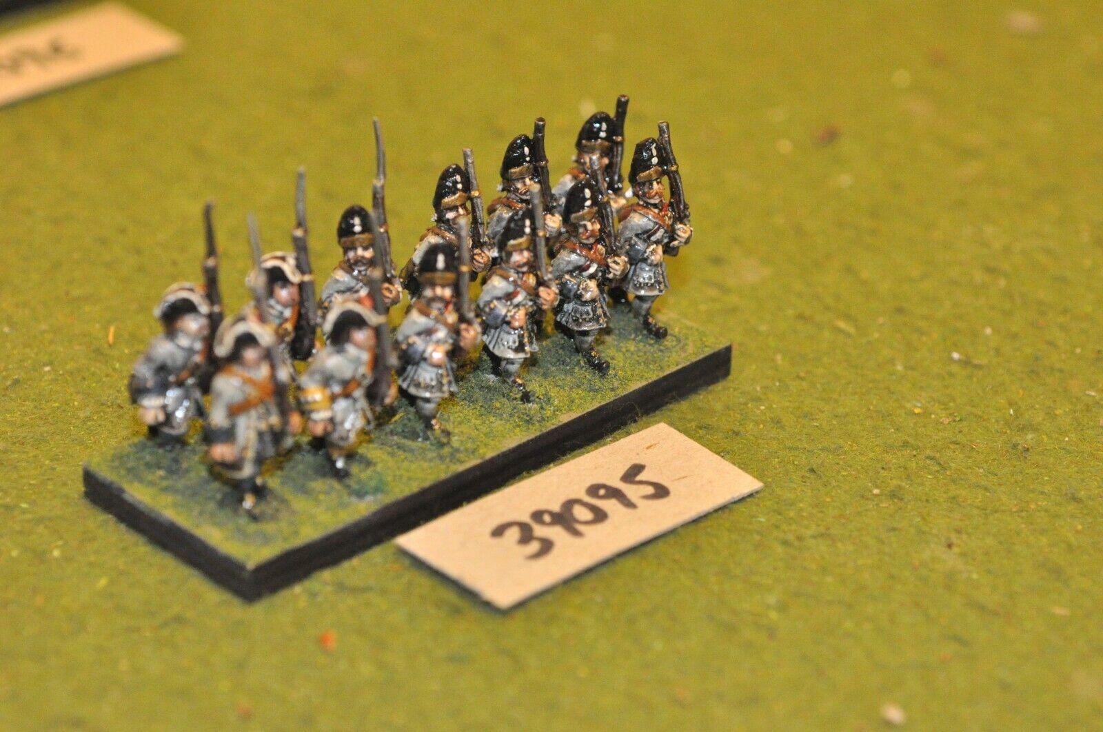 25mm marlburian francés-Regimiento 12 figuras-INF (39095)