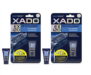 Details about 2 x 9ml Xado EX120 REVITALIZANT For Automatic Gearbox  Transmission LARGER TUBE