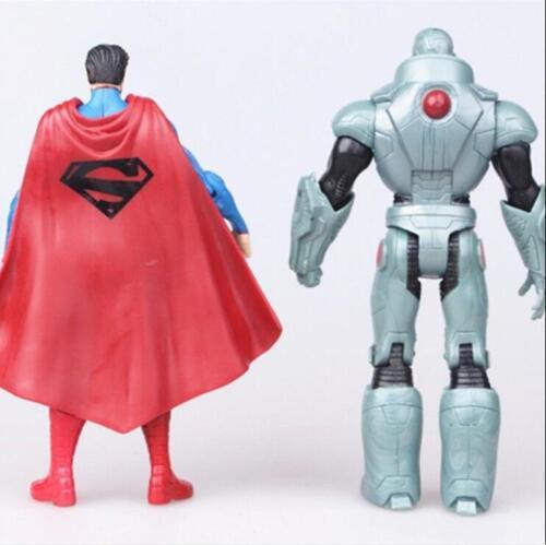 7Pcs DC Comic Justice League Wonder Woman Batman Superman Action Figure US Ship