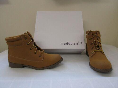 NEW Women/'s  Madden Girl Crush Wheat Fashion Short Ankle Boots Wheat W76