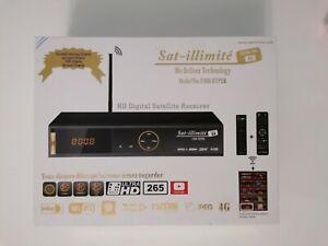 Récepteur SAT ILLIMITE F300 Hyper (serveur internet +satellite en illimité)