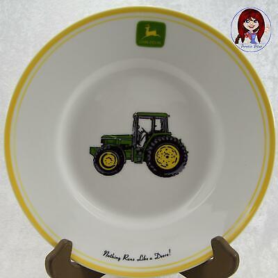 "JOHN DEERE /""Nothing Runs Like a Deere/"" Gibson 11/"" Dinner Plate Dish MINT NICE!"