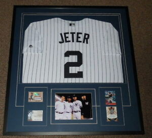 Core-Four-Signed-Framed-33x36-Derek-Jeter-Jersey-Display-JSA-Rivera-Pettitte-JP
