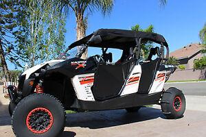 Dragonfire Racing Black SoftTop Roof Can-Am Maverick//Commander MAX