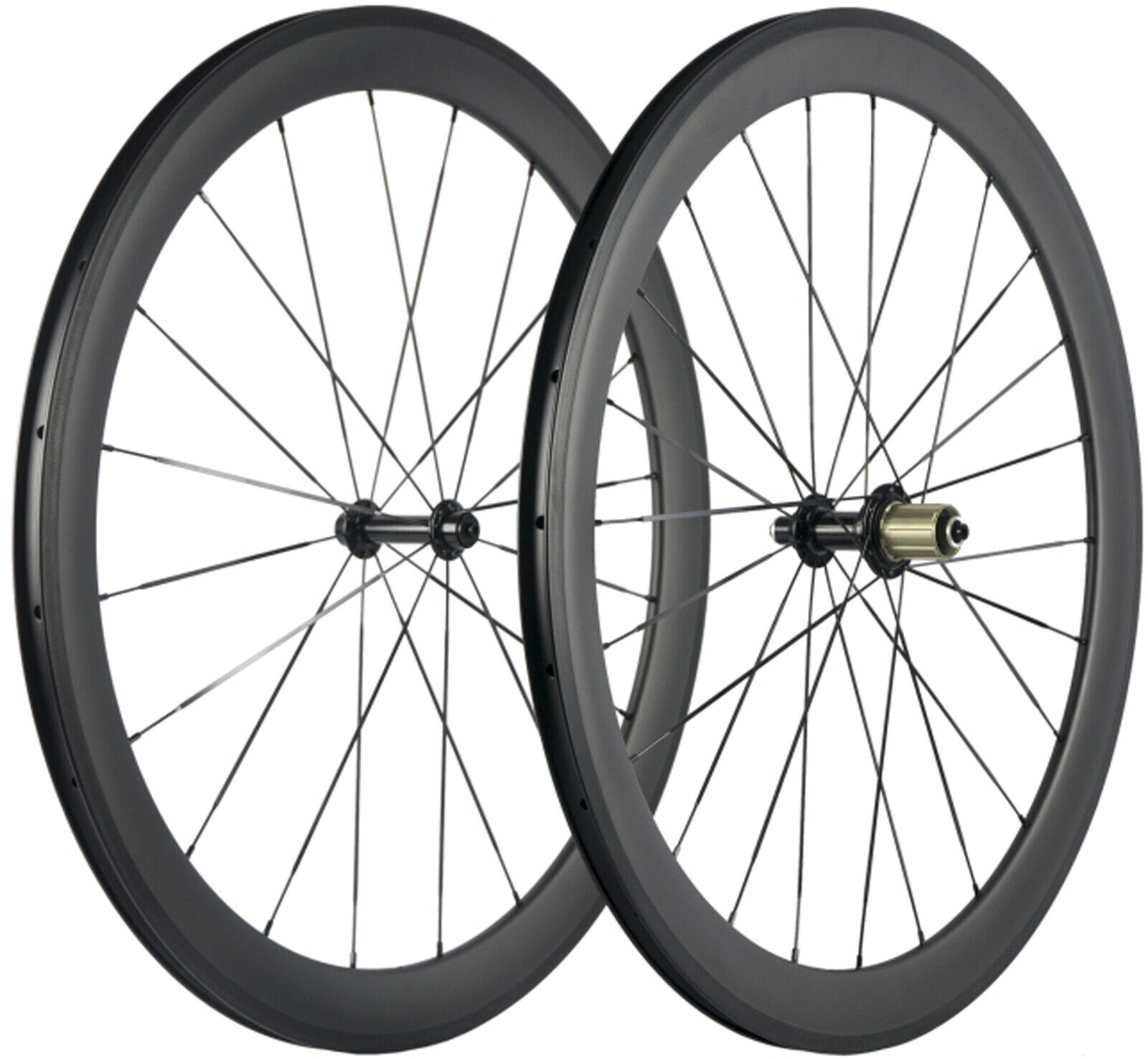 700C 50mm Carbon Wheelset 23mm  UD Matt Shimano Road Bike Carbon Fibre laufrader  clearance