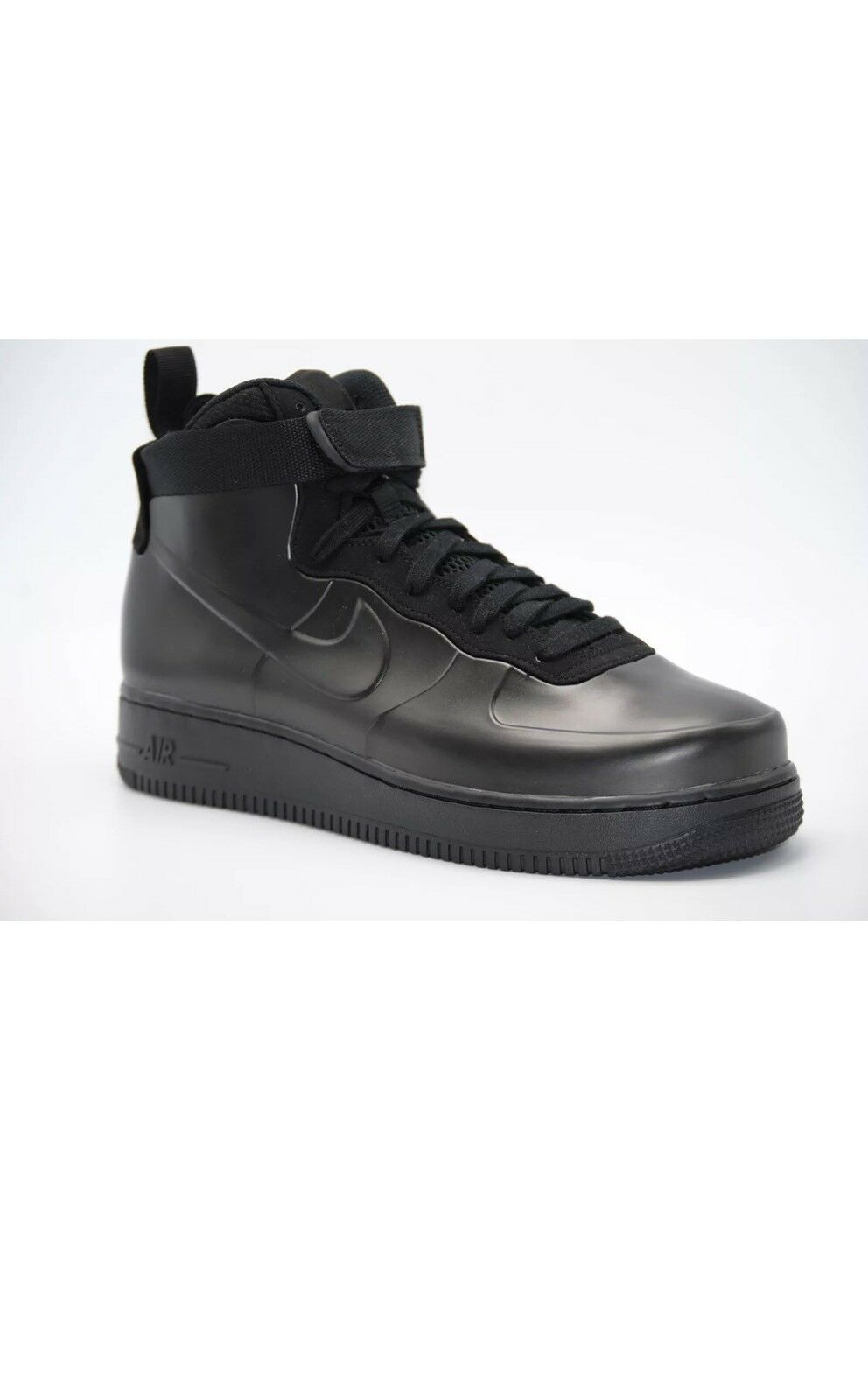 Price reduction NEW MEN'S NIKE AIR FORCE 1 FOAMPOSITE CUP BLACK BLACK BLACK LE989 Seasonal price cuts, discount benefits