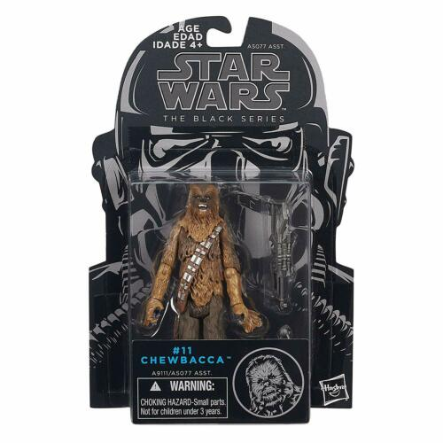 Star Wars Chewbacca #11 3.75 IN Action Figure Série Black environ 9.52 cm