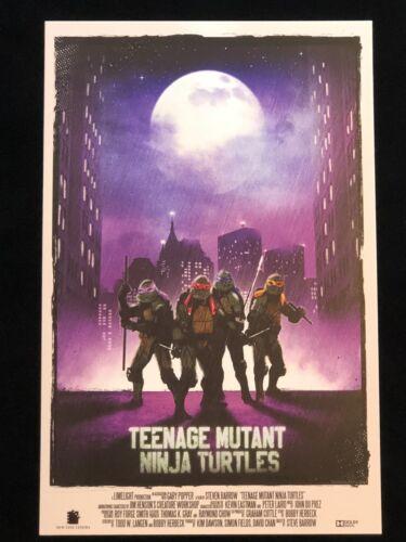 11x17 Reproduction TMNT Teenage Mutant Ninja Turtles High Quality Print!