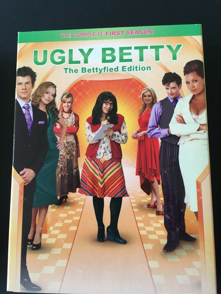 """Ugly Betty"", DVD, komedie"
