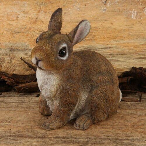 Naturecraft Bunny Rabbit FIGURINA giardino ornamento decorativo
