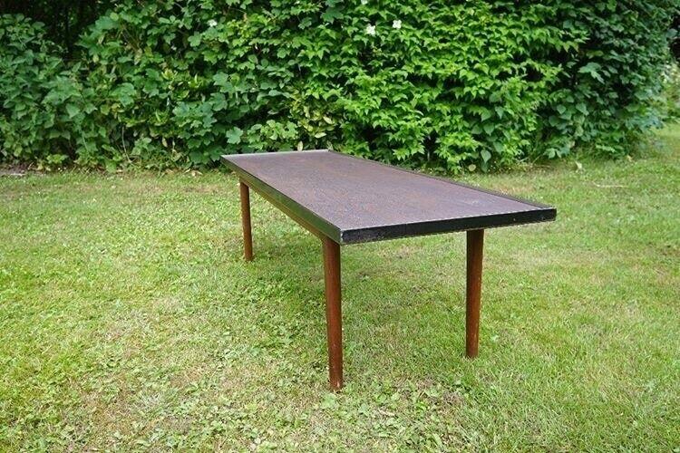 Niels O. Møller, Teak sofabord med justerbar højde