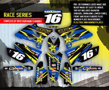 Yamaha YZ Dirt Bike MX Graphics Kit Decals EBay - Decal graphics for dirt bikes