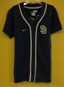 los angeles 730f0 c64ad Details about SAN DIEGO PADRES NIKE JERSEY WOMENS -M