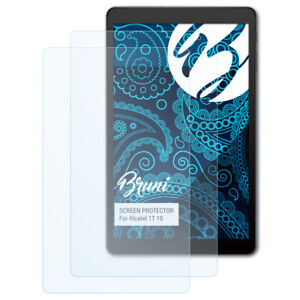 Bruni-2x-Schermfolie-voor-Alcatel-1T-10-Screen-Protector-Displaybeveiliging