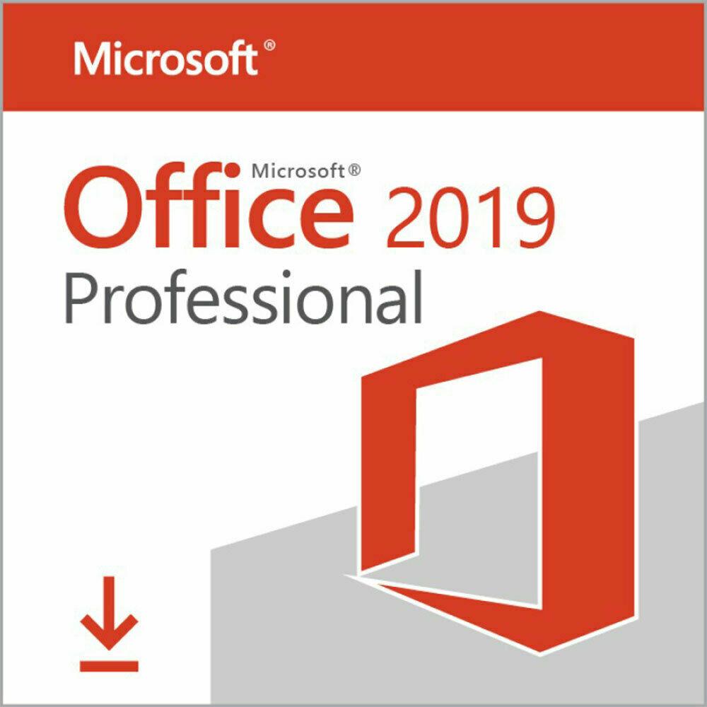 Microsoft Office 2019 Professional Plus Vollversion Lizenz Key für Windows 10