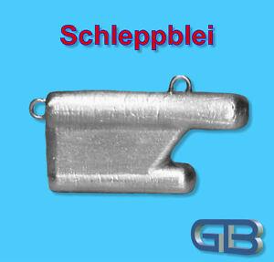 Schleppblei-mit-Ose-40g-50g-60g-80g-Angelblei-Grundblei-Raubfisch-Blei