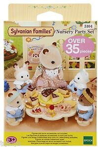 Sylvanian-Families-Nursery-Party-Set-Brand-New-5104