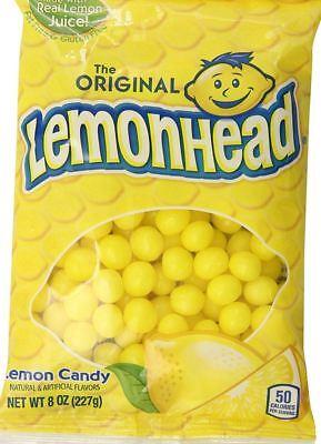 Lemonheads The Original Lemonhead Lemon Candy Easy To Lubricate Other Candy, Gum & Chocolate