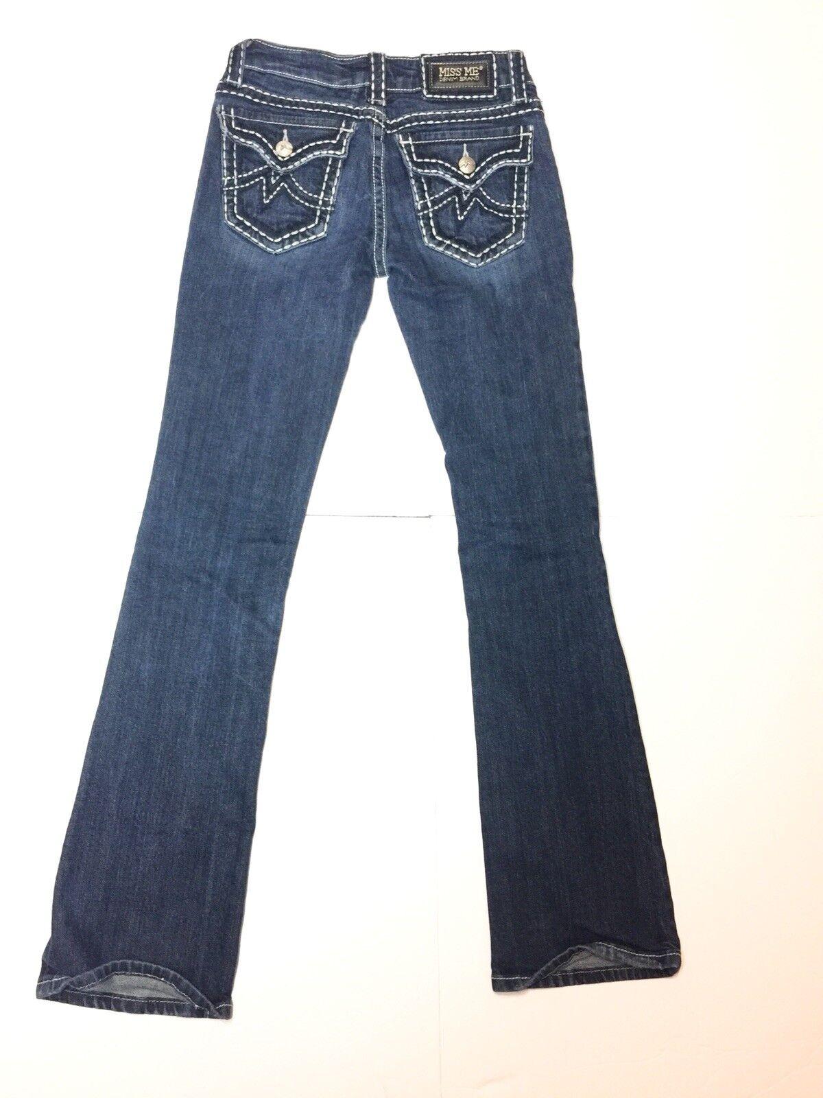Miss Me Irene Bootcut Jeans Size 27 Medium Wash - Inseam 31