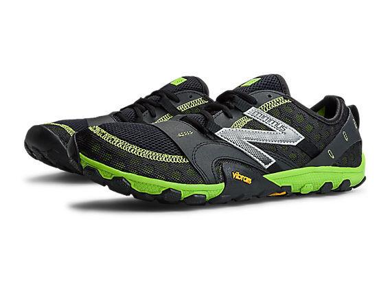 Nuevo En Caja  New Balance Minimus Trail Running Zapatos MT10GN2 para Hombre US 11.5 D Negro verde