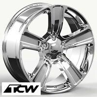 (4) 20 Inch 20x9 Ram 1500 2013 Oe Replica Chrome Wheels Rims Fit Ram 1500 94-17