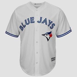 c5bb9fa9945 Toronto Blue Jays Cool Base Jersey 3XL Home White Majestic MLB