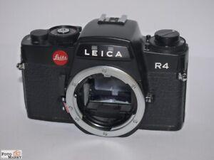 Leica-R4-Black-Case-Reflex-Camera-SLR-Body-Black