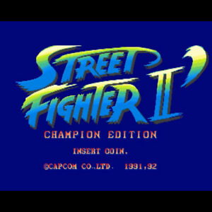 Street Fighter 2 Champion Edition Game Sub Rom Mother Board Capcom