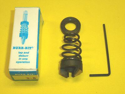 Vernon Devices 12130 Tap Size 3//8-2FL Burr-Bit High Speed Steel Deburring Cutter