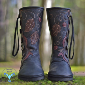 Women's New Casual Comfortable Handmade Leather Boots