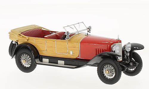 Mercedes - 28   95 1922 roten holz 1 43 modell neo - modellen