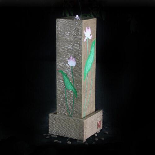 LED Ring Beleuchtung für Springbrunnen Kranz Quellstein Pumpe Wasserspiel Licht