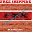 Fox Racing Flag Banner 2x8ft 240X60cm Garage Man Cave Large Banner Wall Decor