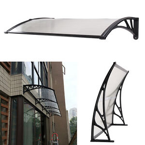 Image is loading NEW-DOOR-CANOPY-AWNING-SHELTER-FRONT-AND-BACK-  sc 1 st  eBay & NEW DOOR CANOPY AWNING SHELTER FRONT AND BACK DOOR AWNING ...