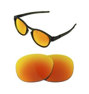 74c85ce331 NEW POLARIZED REPLACEMENT FIRE RED LENS FOR OAKLEY LATCH SUNGLASSES ...