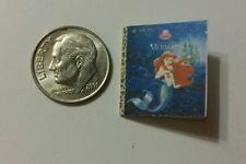 Miniature dollhouse Disney Princess book Barbie 1/12 Scale Little Mermaid Ariel