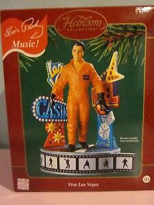 Carleton Cards Viva Las Vegas Elvis Christmas Tree Heirloom Ornament NEW 5 avail