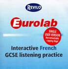 Eurolab Interactive French GCSE Listening Practice by Revilo Language Cards (CD-ROM, 2006)