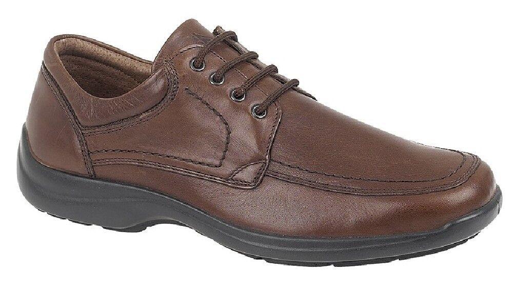 Imac 'Trevor Mudgard Inserto Cravatta shoes in Pizzo pelle brown