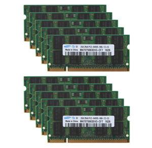 Lot-For-Samsung-8GB-4GB-2GB-PC2-6400-DDR2-800Mhz-CL6-SODIMM-Laptop-Memory-RAM-amp-N
