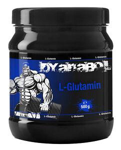 Dyanabol-L-Glutamin-500g-Pulver-Hochdosiert-Premium-Aminosaeure-Muskelaufbau