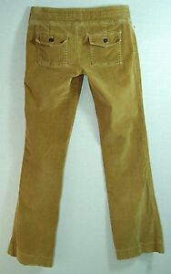 Hippy-CHIC-Buttery-SOFT-LOW-Flare-BROWN-Corduroy-HOLLISTER-Jeans-PANTS-1