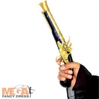 Fake Plastic Gun Victorian Cape Fancy Dress Party Costume Accessory