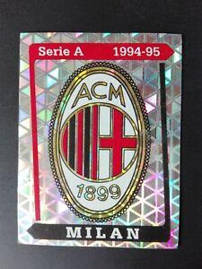 FIGURINA-CALCIATORI-PANINI-1994-95-SCUDETTO-MILAN-n-201-NUOVA-CON-VELINA-NEW