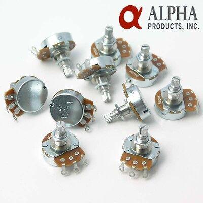 10 X A Or B Full Size Alpha Vol/tone Control Pot Potentiometer 18mms Geschickte Herstellung