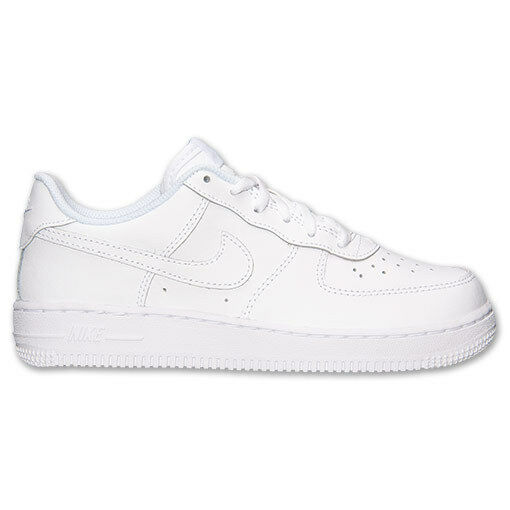 buy popular 7032a 07b23 Nike Air Force 1 PS Little Kids 314193-117 White Shoes SNEAKERS Youth Size  1.5 for sale online   eBay