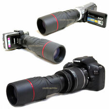 VK 10x 42 1000mm Telescope for Canon EOS Rebel XTi 400D Kiss X EF-s 18-55mm